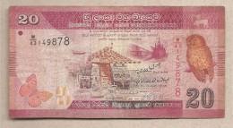 Sri Lanka - Banconota Circolata Da 20 Rupie - 2010 - Sri Lanka