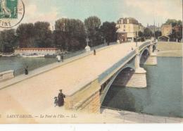 -93-saint Denis Le Pont De L Ile - Saint Denis