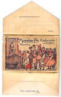 [DC3132] CPA - MANNEKEN PIS 10 JOLIES CARTES COMIQUES BRUXELLES - SERIE COMPLETA 10 CARTOLINE NV - Old Postcard - Belgio