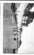 Cpsm: 44 LA BERNERIE EN RETZ (ar. Saint Nazaire) Plage Sainte Anne Et Hôtel De L´Océan (animé) 1962 - Autres Communes
