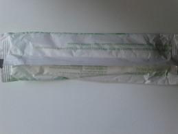 Alt909 Alitalia Airways Compagnia Aerea Kit Pranzo Meal Forchetta Coltello Zucchero Sale Pepe Tovagliolo - Materiale Promozionale