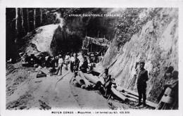 ¤¤   -   MOYEN CONGO   - Mayumbe  -  Le Tunnel Au Kilomètre 105.300  -  Afrique Equatoriale Française   -  ¤¤ - Congo - Brazzaville