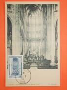 FRANCE CARTE MAXIMA 1944 - N°666 Beauvais  Sur Carte Maxima Neuve.   Superbe - Maximum Cards