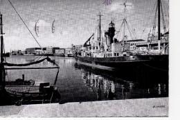 Dunkerque Le Bassin Du Commerce ; Repro De Cigogne ( Bateau Feu - Dunkerque