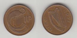 IRELANDE - 1 PENCE 1971 - Irlande