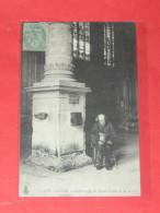 ROUEN    1902  METIER MENDIANT / AVEUGLE DE SAINT PIERRE    CIRC  OUI  EDITION - Rouen