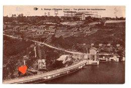 08858-LE-36-Barrage D' Eguzon-Vue Générale Des Transformateurs - France
