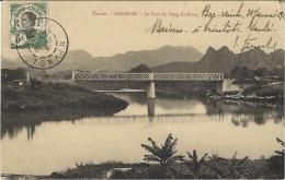 TONKIN - LANGSON - Le Pont Du Song Ki-Kong -sans éditeur - Viêt-Nam
