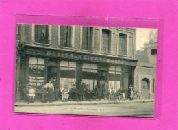 HARFLEUR / ARDT  LE HAVRE  1902   DEVANTURE COMMERCE  /   BAR TABAC LA CIVETTE   CIRC  OUI  EDITION - Harfleur
