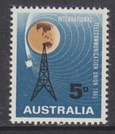 Australia 1965 ITU/Space 1v ** Mnh (31445B)
