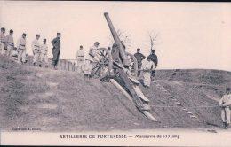 Guerre 14-18, Artillerie De Forteresse, Canon De 155 (26915) - Equipment