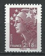 "YT 4238 "" Marianne Beaujard 2.18€ "" 2008 Neuf **"