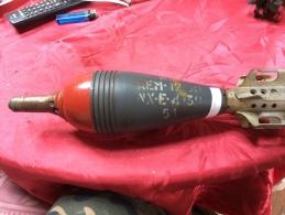 SUPERBE Obus De Mortier Mle 81 NEUTRALISEE - Armes Neutralisées
