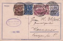 ALLEMAGNE  1923 CARTE DE BLANKENBURG - Briefe U. Dokumente