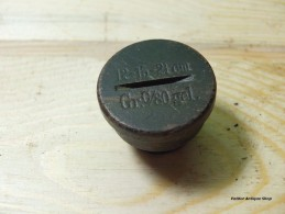 Transportation Plug AUSTRIA-HUNGARY Marked Gr.c/80 Gel 12-15-21 Cm - 1914-18