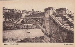 Pertuis 84 Perthuis - Passerelle - Pertuis