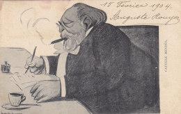 Célébrités - Ecrivain - Catulle Mendès - Café Cigare - 1904 Correspondant 51 Rue Pixérécourt Paris 20ème - Ecrivains