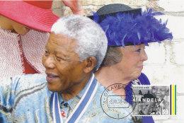 D24878 CARTE MAXIMUM CARD RR 2013 NETHERLANDS - POSTMARK DATE OF DEATH NELSON MANDELA - NOBEL PRIZE PEACE CP ORIGINAL - Nobel Prize Laureates