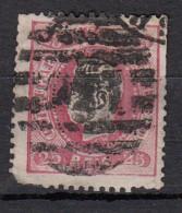 Portugal  Don Luiz I  YT N°29  25r Rose - Oblitérés