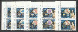 1989 Vaticano Vatican VIAGGI DEL PAPA - JOURNEYS OF THE POPE 2 Serie Di 5v. MNH** - Used Stamps