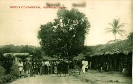 GUINEA ESPAÑOLA. POBLADO DE ASSOBLA - Guinea Ecuatorial