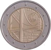 """2 Euro Commemorativo Portogallo """"50° Anniv. Ponte 25 Aprile""""  (II°2016) - Portugal"""