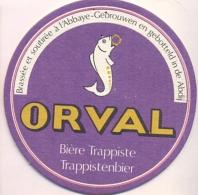 #D107-188 Viltje Orval - Beer Mats