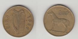 IRELANDE - 20 PPENCE 1986 - Irlande