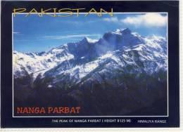 PAKISTAN, Himaliya Range, The Peak Of NANGA PARBAT; Used, Large Format - Pakistan
