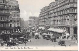 PARIS - La Rue Saint-Lazare - District 08
