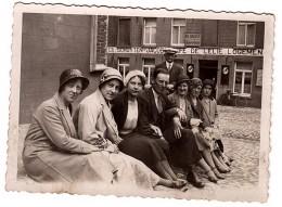 Famille à Montaigu Scherpenheuvel Photo 8,5x6 - Personnes Anonymes