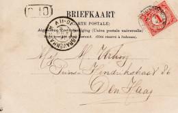 16 AUG 02 Ansicht Met Kleinrond LEIDSCHENDAM Naar 'sGravenhage - Periode 1891-1948 (Wilhelmina)
