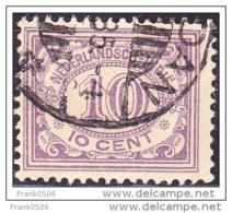 Netherlands Indies 1912-40, Numeral Of Value, 10c, Used - Indes Néerlandaises