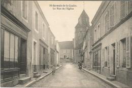 ST GERMAIN DE LA COUDRE  -  LA RUE DE L´ EGLISE - France