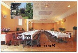 - SANDILLON - Hôtel Restaurant Au Lion D'Or, Une Salle, Non écrite, Grand Format, Proprio Mme Berneau,  TBE, Scans. - France