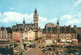 CPSM    -  Lille - Place Du General De Gaulle  ,animée                 K401 - Lille