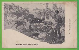 BUFFALO BILL'S WILD WEST / CHARGE DE CAVALERIE  .... Carte Vierge - Non Classificati