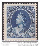 El Salvador 1896, Columbus, 100c, Scott# 157, MNG - El Salvador