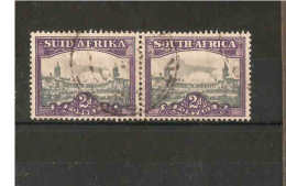 SOUTH AFRICA 1938 2d BLUE AND VIOLET SG 58 FINE USED Cat £50 - Zuid-Afrika (...-1961)