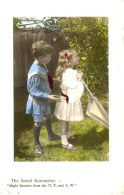 CHILDREN - YOUNG GIRL AND BOY  RP Chil73 - Portraits