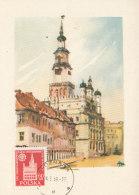 D24916 CARTE MAXIMUM CARD 1959 POLAND - POZNAN CITY HALL CP ORIGINAL - Architecture