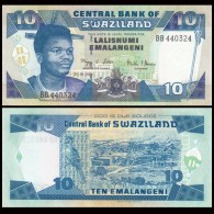 Swaziland 10 Emalangeni 2006 P-29c UNC BANKNOTE CURRENCY AFRICA MONEY - Swaziland