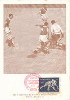D24939 CARTE MAXIMUM CARD FD 1952 PORTUGAL - ROLLER HOCKEY PORTO CP ORIGINAL - Hockey (Field)