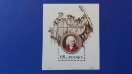 POLAND 1985 BLOCK 300TH ANNIVERSARY OF JOHAN SEBASTIAN BACH  MINT NEVER HINGED - 1944-.... Republic