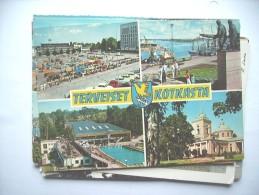 Finland Suomi Terveiset Kotkaska Kotka - Finland