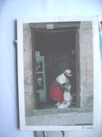 Ecuador Cuenca Woman In A Shop - Ecuador