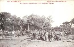 ETHIOPIE DANS LES CONTREES GALLA LA SOURCE DANS LE TORRENT DU DIRE DAOUA - Ethiopie
