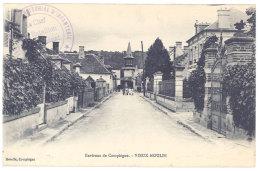 Cpa Environs De Compiègne, Vieux-Moulin ( Tampon 139e Régiment Territorial D'Infanterie ... ) - France