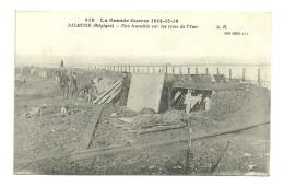 La Grande Guerre : Dixmude : Une Tranchée Sur Les Rives De L'Yser - Diksmuide