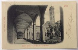 PISA MUSEO CIVICO CHIOSTRO DI S. FRANCESCO VIAGGIATA FP - Pisa